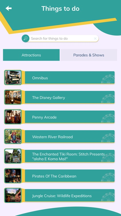 App to Tokyo Disneyland