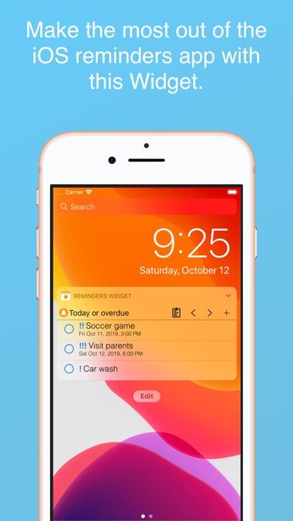 Reminders Widget screenshot-0