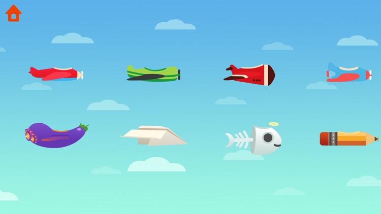 Dinosaur Plane - Game for kids screenshot-8