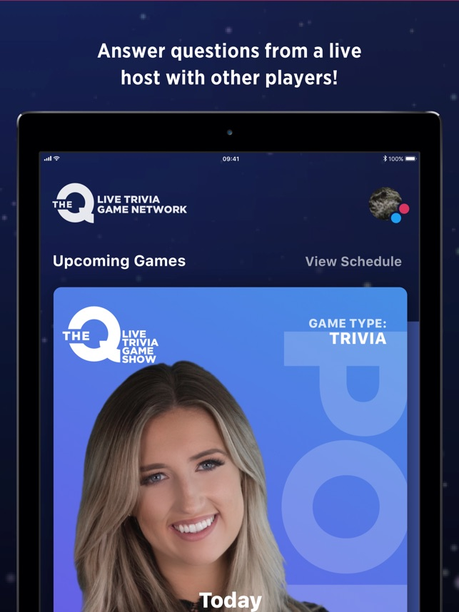 The Q - Live Game Network dans l'App Store