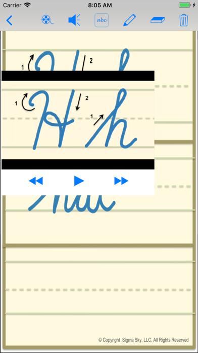 cursive screenshot 6