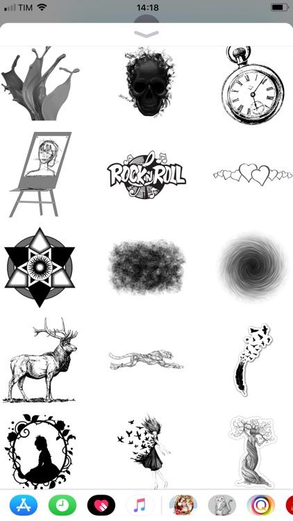 Sketch Color Pencil Stickers screenshot-4
