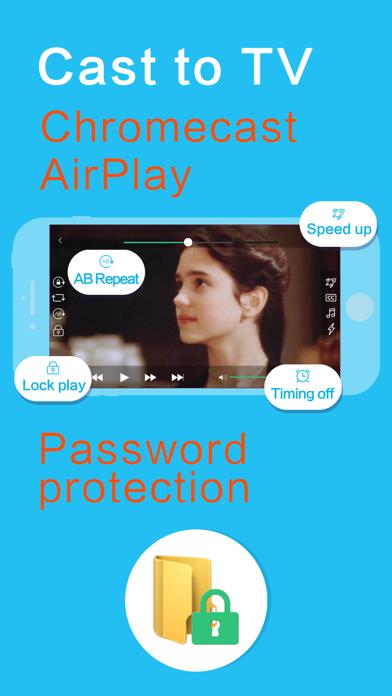 Скриншот №5 к OPlayer Lite - видео плеер
