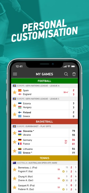 Flashscore Live Scores On The App Store