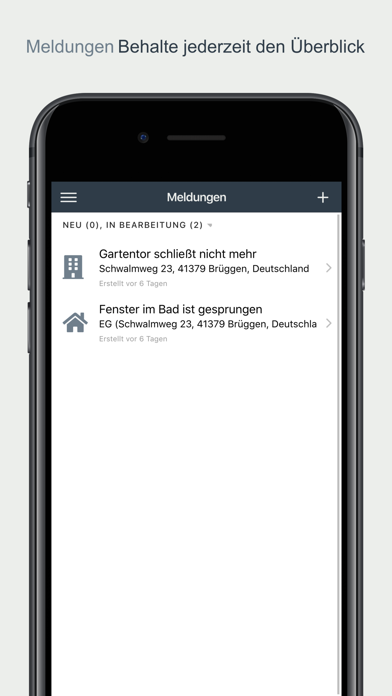 promeldung screenshot 2