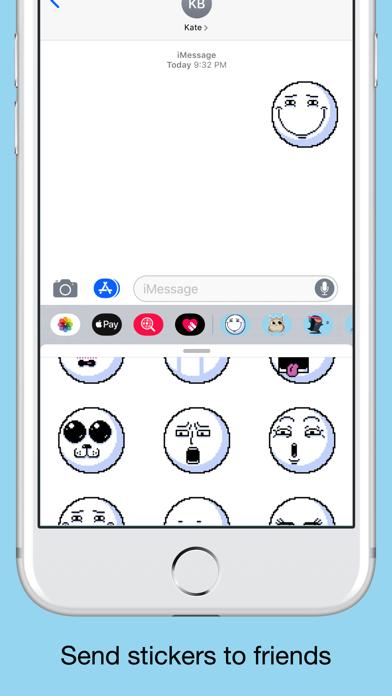 Pixel emoji - smiley stickers screenshot 4