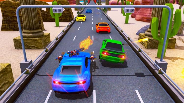 Car Shooting Game:Battle Crash screenshot-6