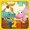 Dino Numbers Counting Games