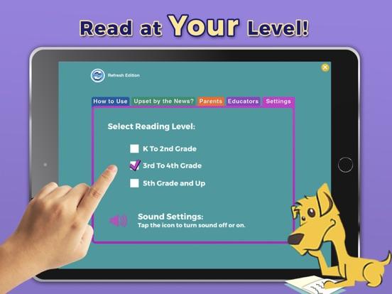 Screenshot #6 pour News-O-Matic: Reading for Kids
