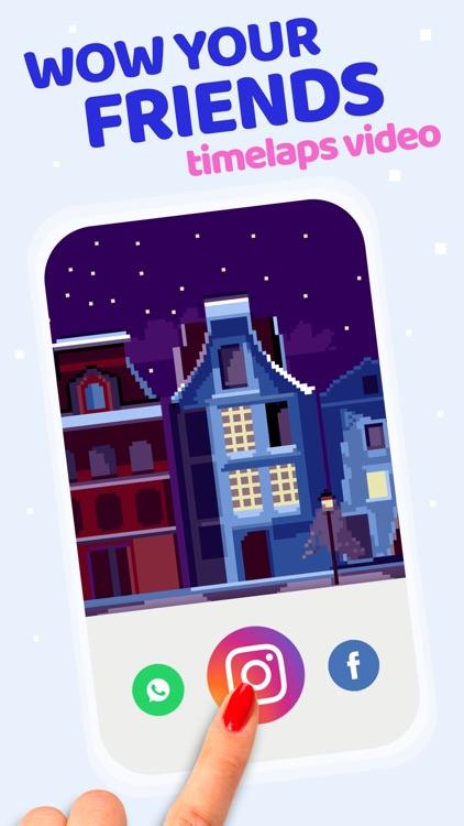 Pixel Land Color by Number art screenshot-5