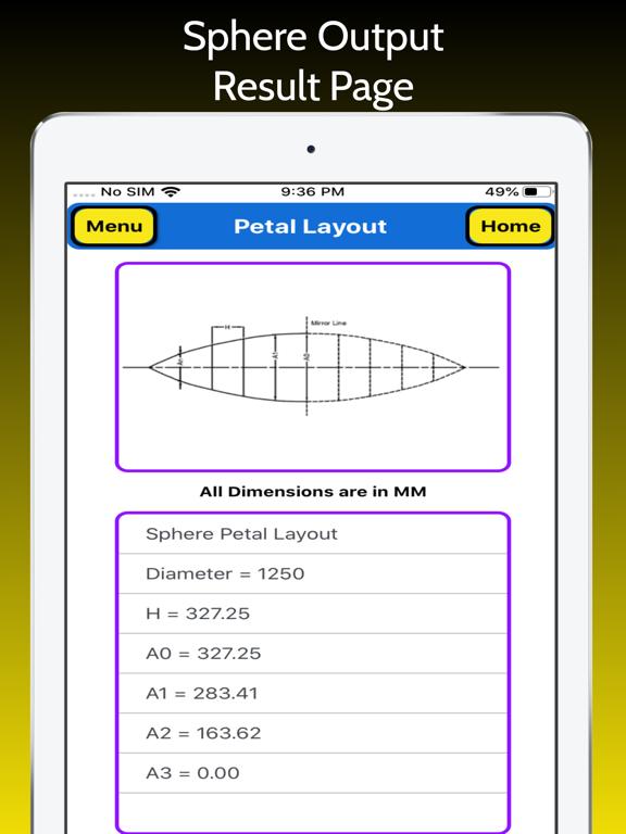 Petal Layout screenshot 14