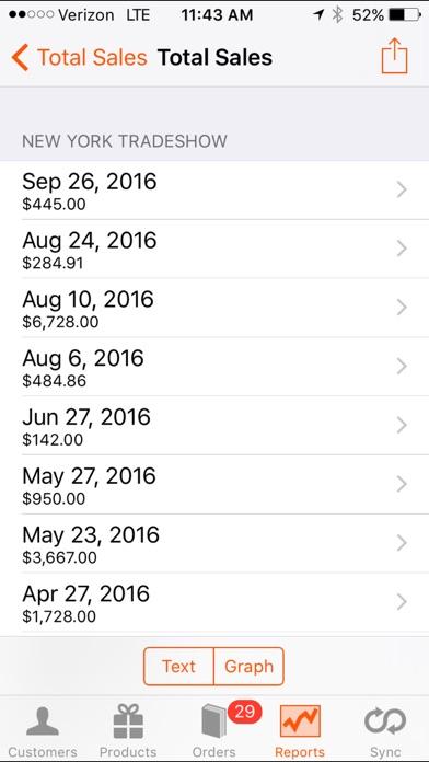 Screenshot #3 pour Handshake: B2B Sales Order App