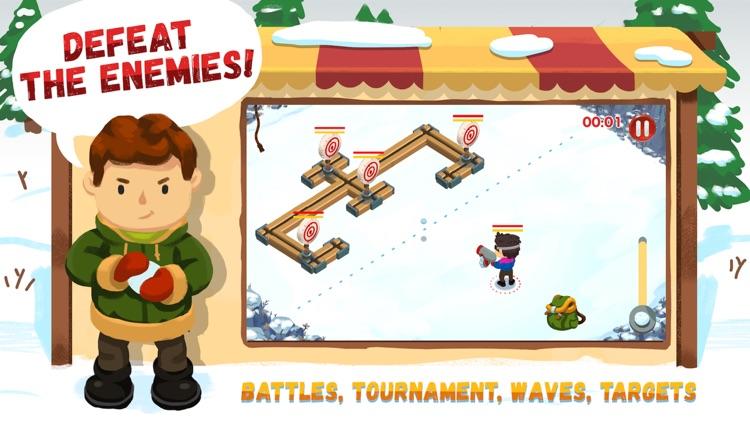 Snowicks: Snow Battle screenshot-3