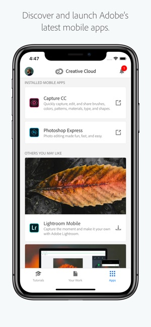 Adobe Creative Cloud on the App Store