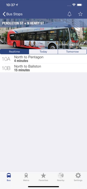 DC Metro and Bus on the App Store