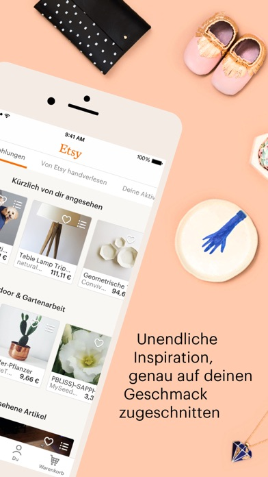 Screenshot for Etsy – Kreatives entdecken in Switzerland App Store