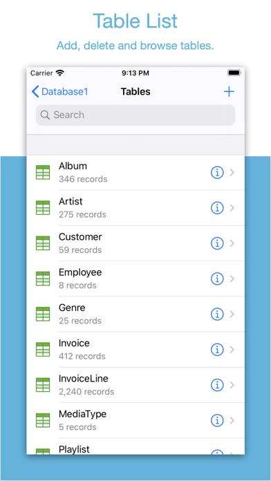 Sqliteflow review screenshots