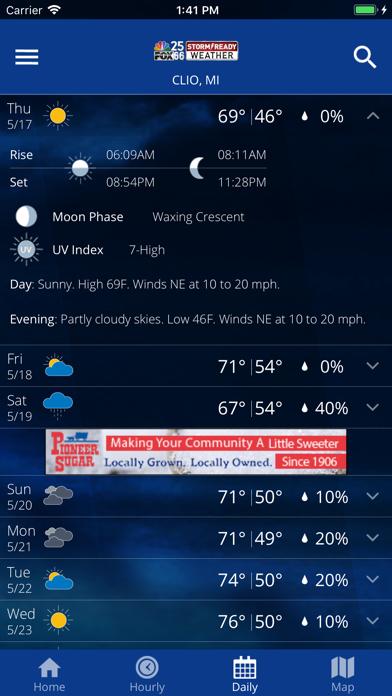 NBC25/FOX66 WX | App Price Drops