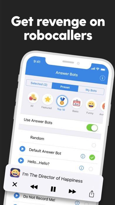Screenshot for RoboKiller: Block Spam Calls in United States App Store