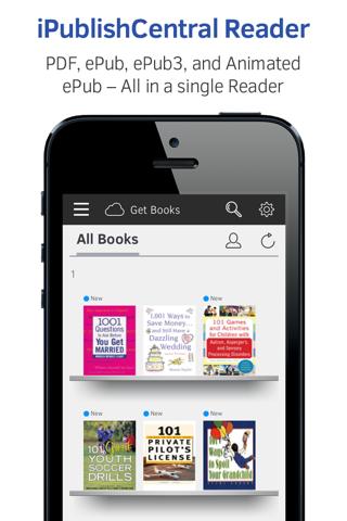 iPublishCentral Reader - náhled