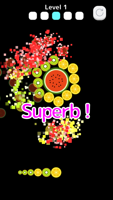 FruitsBubble screenshot 3