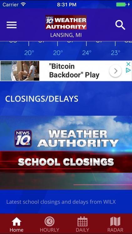 WILX News 10 Weather Authority screenshot-4
