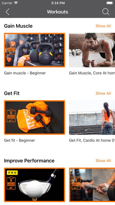 Basic-Fit iPhone app afbeelding 3