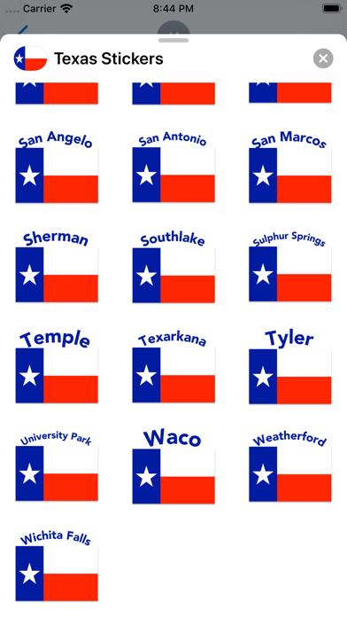 Texas Stickers screenshot 10