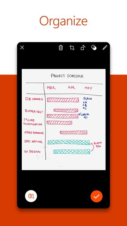 Microsoft Office Lens PDF Scan screenshot-3