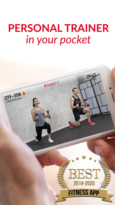 HASfit: Home Workout Routinesのおすすめ画像1