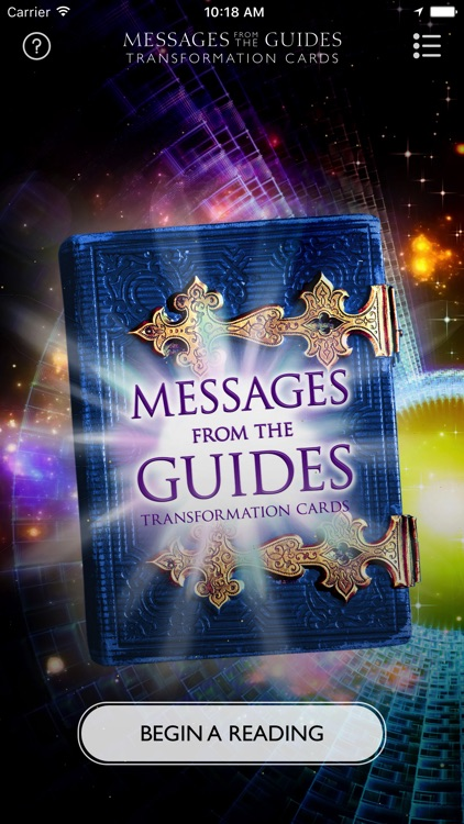 Messages from the Guides