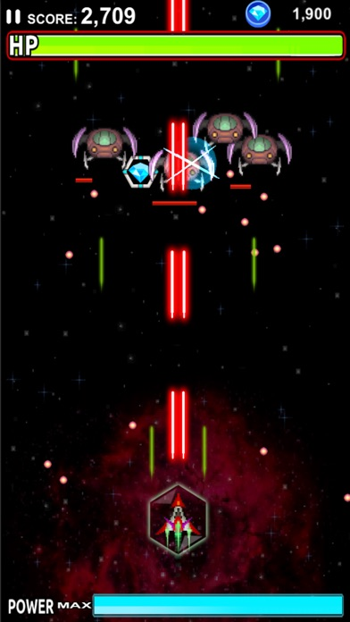 Screenshot for Galaxy Saga - Classic Shooter in United Kingdom App Store