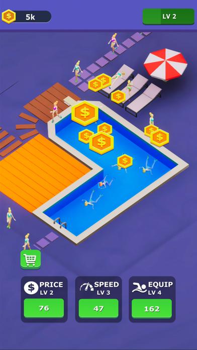 Idle Swimming Pool screenshot 4