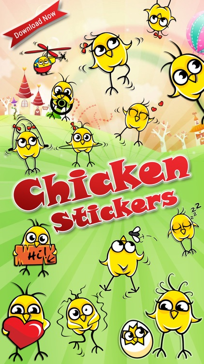 Chicken Emoji Stickers