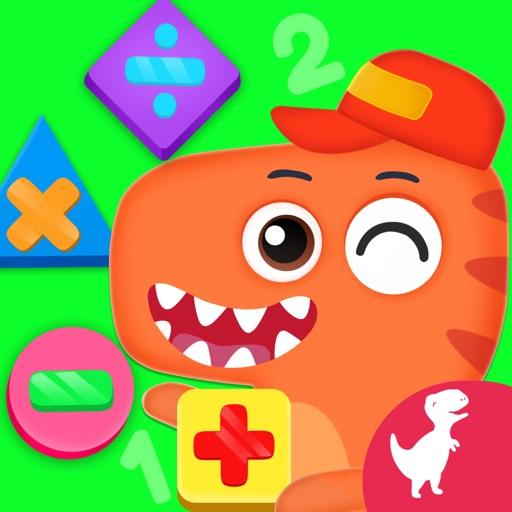 Dino School Kids Math Games