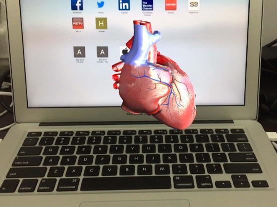AR Human heart – A glimpse screenshot 5