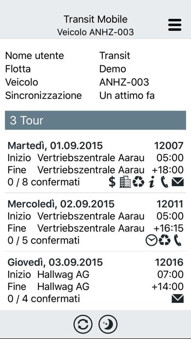Screenshot of Transit Mobile1
