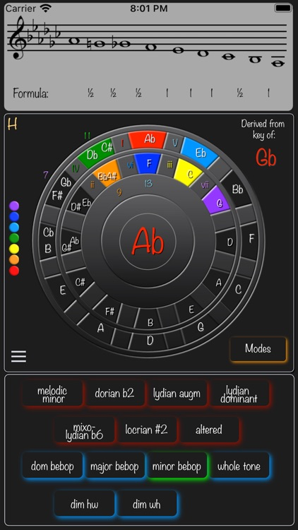 Magic Circle of 5ths screenshot-3