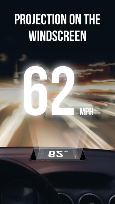GPS Speedometer App + HUD Screenshot