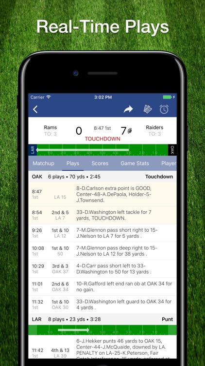Scores App: NFL Football 2019 screenshot-1