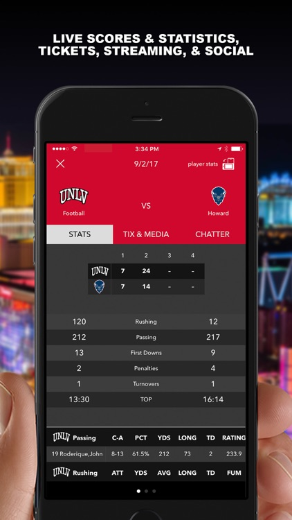UNLV Rebel Athletics Gameday screenshot-2