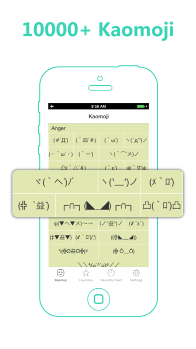 Kaomoji -- Japanese Emoticons for Windows