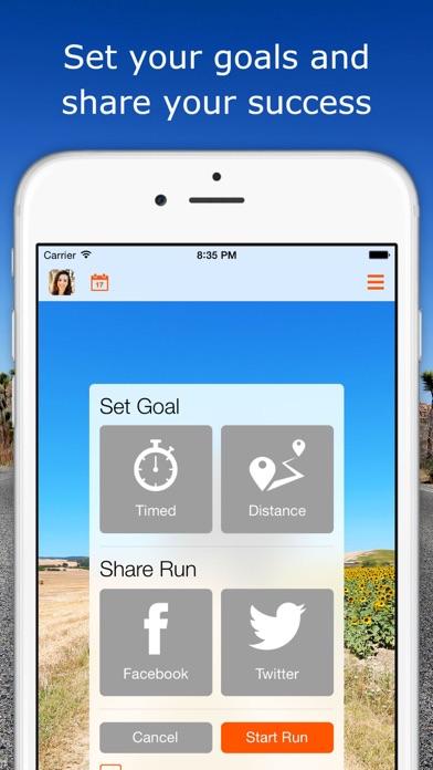 RunSocial screenshot four