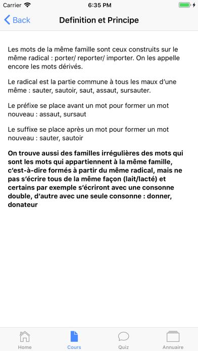 Français 5ème screenshot 2