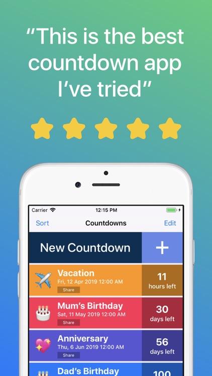 Countdown ◎ screenshot-0