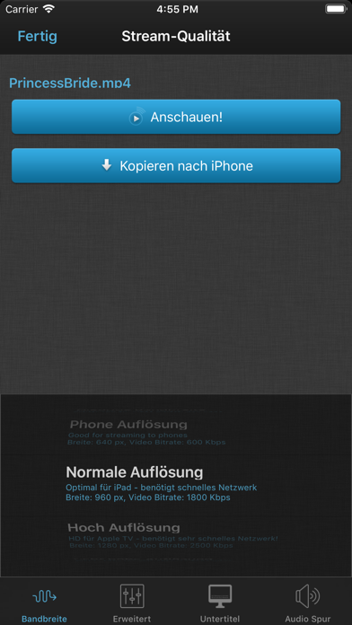 Screenshot for VLC Streamer in Germany App Store