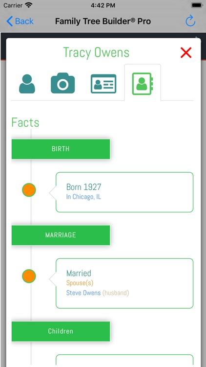 Family Tree Builder Pro screenshot-4