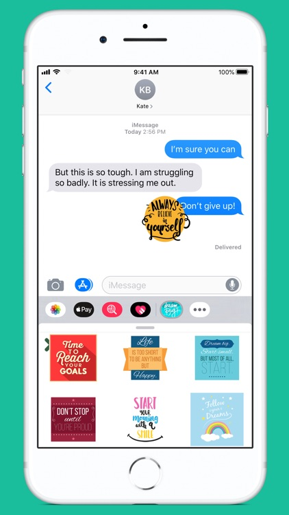Stickee Stickers for iMessage screenshot-0