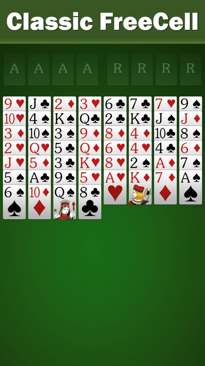 FreeCell Solitaire by Solebon screenshot-0
