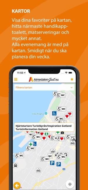 在app Store 上的 Almedalen Just Nu